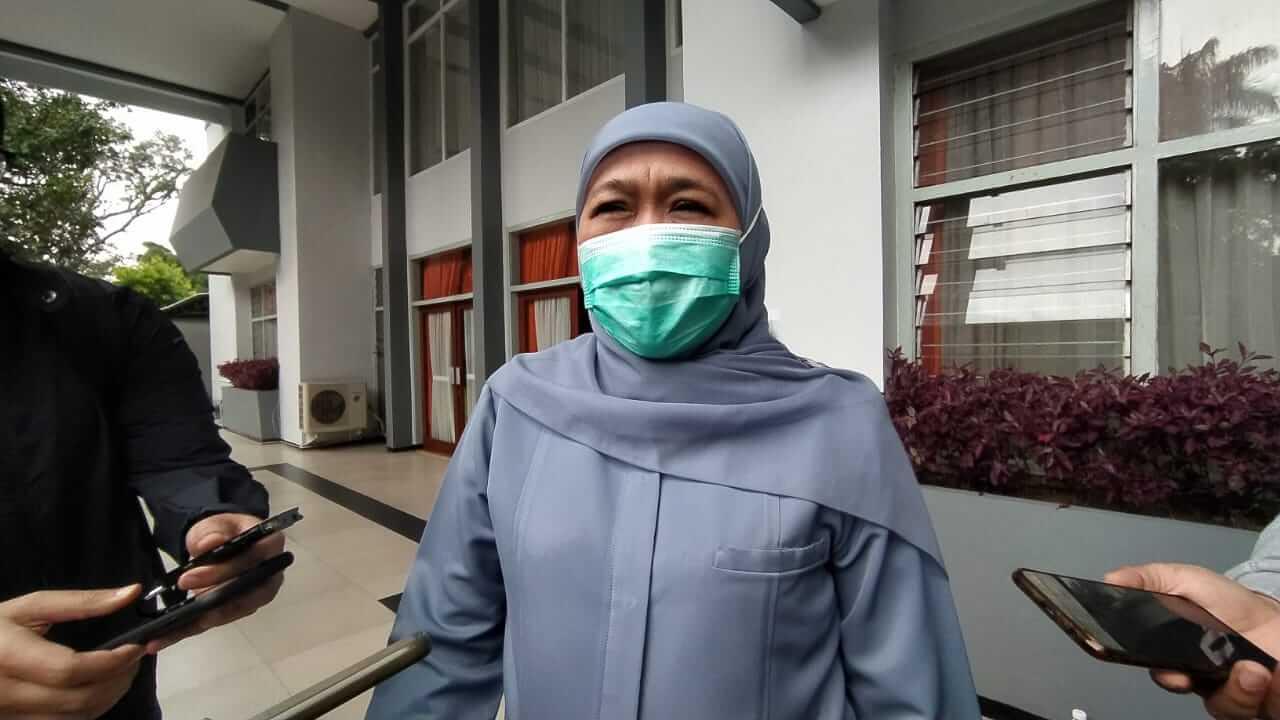 Gubernur Jawa Timur Khofifah Indar Parawansa. (Foto: Azmy/Tugu Jatim)