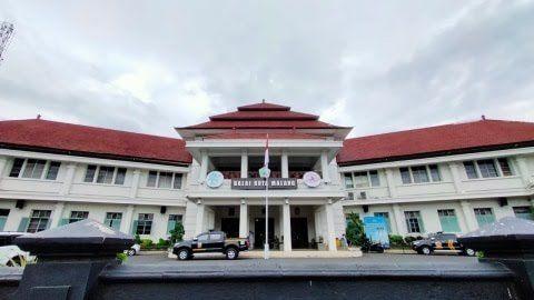 Jelang HUT Kota Malang di balai kota. (Foto: Humas Pemkot Malang/Tugu Jatim)