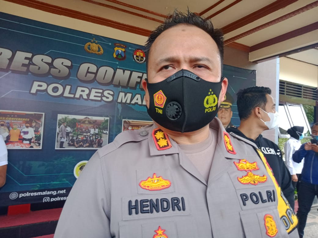 Kapolres Malang AKBP Hendri Umar akan terus menyelidiki kebenaran dari peristiwa penembakan ulama sekaligus YouTuber Gus Idris. (Foto: Rap/Tugu Jatim)