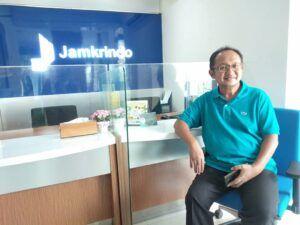 Pemimpin Wilayah VI Jawa Timur (Jatim) Perum Jamkrindo Loesdarwanto. (Foto: Ben/Tugu Media Group)