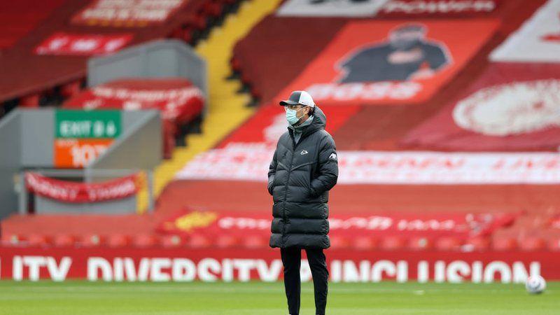 Jurgen Klopp mendapat komentar dari pemain legendaris Liverpool, Dietmar Hamann. (Foto: Twitter @Sportbuzzbr/Tugu Jatim)