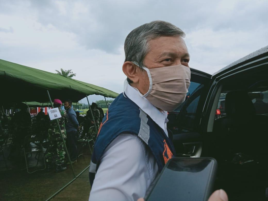 Ketua Tim Tracing Satgas Penanganan Covid-19 Jawa Timur dr Kohar Hari Santoso memastikan virus Corona B.1.1.7 belum masuk ke Jatim. (Foto: Rap/Tugu Jatim)