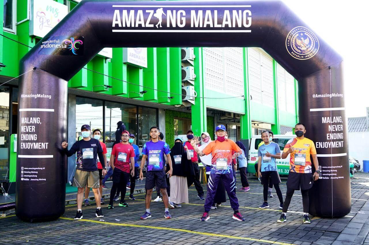 Amazing Malang Run diikuti oleh 500 peserta. (Foto: Dokumen/Amazing Malang Run)