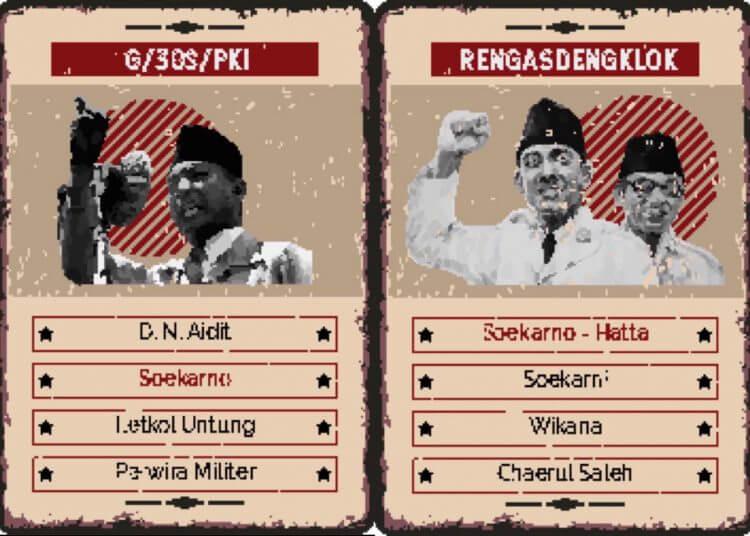 Augmented Reality History Education Card Game (ARCADIA), game untuk belajar sejarah buatan mahasiswa ITS. (Foto: Dokumen ITS)
