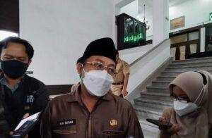 Wali Kota Malang Sutiaji saat menanggapi perizinan menggelar konser musik. (Foto: Azmy/Tugu Jatim)