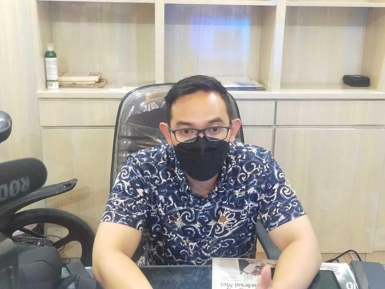 Kepala Bagian Hubungan Masyarakat (Humas), Pemerintah Kota (Pemkot) Surabaya Febriadhitya Prajatara. (Foto: Pemkot Surabaya) rekrutmen pekerjaan ktp surabaya hoaks tugu jatim