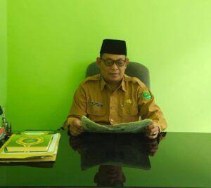Plt. Kepala Kantor Kemenag Kabupaten Tuban, Moh. Qosim. (Foto: Humas Kemenag Tuban)