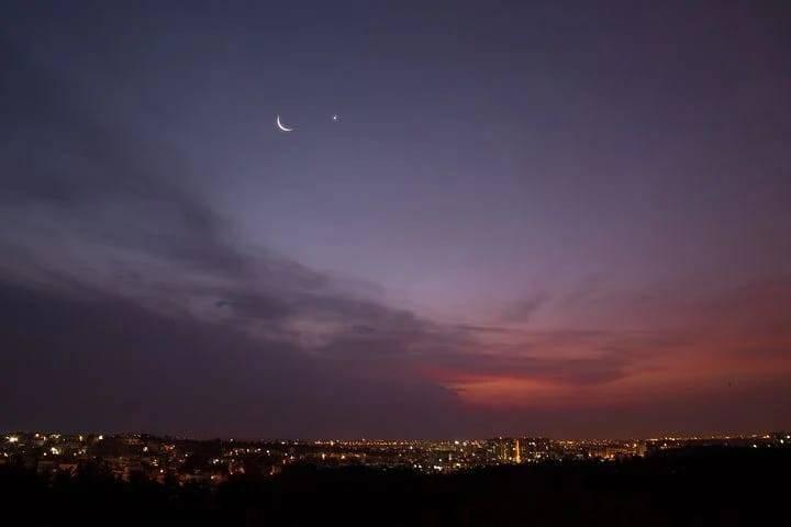 Ilustrasi bulan sabit. (Foto: Pixabay/Tugu Jatim)