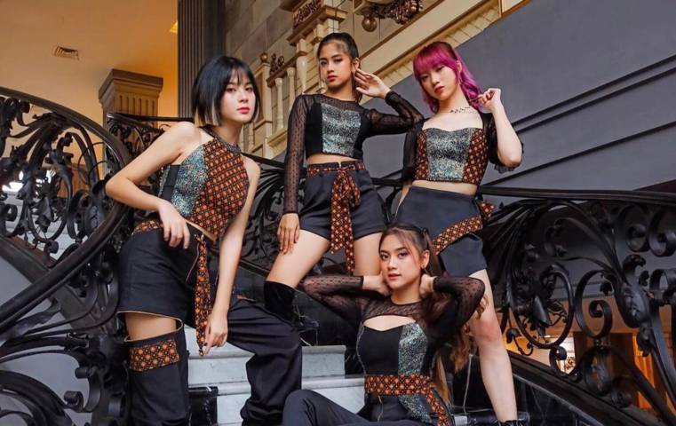 StarBe, girl group asal Indonesia. (Foto: IG @starbeofficial/Tugu Jatim)