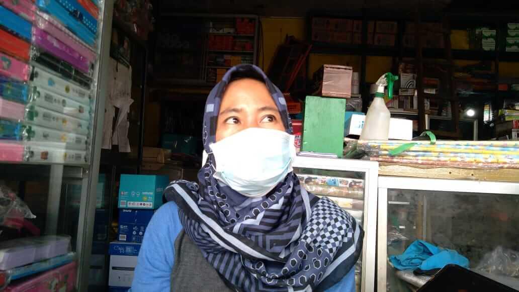 Ida Mulyani (44), istri Rudi Jauhari (48) pengusaha ATK di Turen yang jadi korban perampokan dan pembunuhan di Turen, Kabupaten Malang beberapa waktu lalu. (Foto: RAP/Tugu Malang/Tugu Jatim)