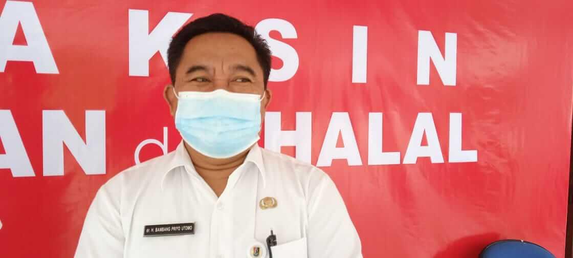 Kepala Dinas Kesehatan Kabupaten Tuban, Bambang Priyo Utomo. (Foto: Mochamad Abdurrochim/Tugu Jatim)