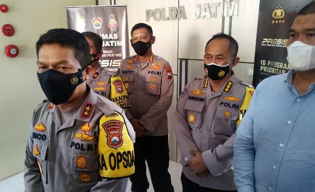 Kapolda Jatim, Irjen Nico Afinta saat memberikan keterangan terkait kasus penganiayaan yang dialami oleh jurnalis Tempo. (Foto: Dokumen/Polda Jatim)