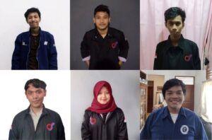Kru mahasiswa/i ITS Surabaya yang membuat game ARCADIA, game untuk belajar sejarah. (Foto: Dokumen ITS)