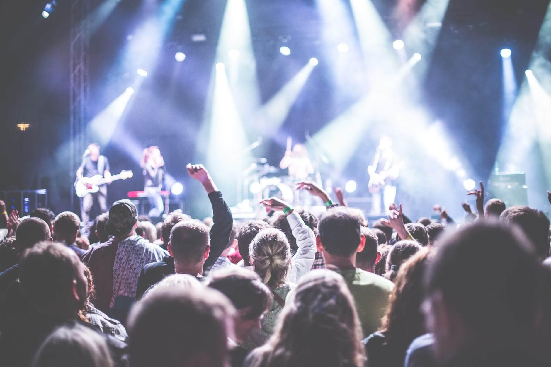 Ilustrasi konser musik. (Foto: Pexels/Tugu Jatim)