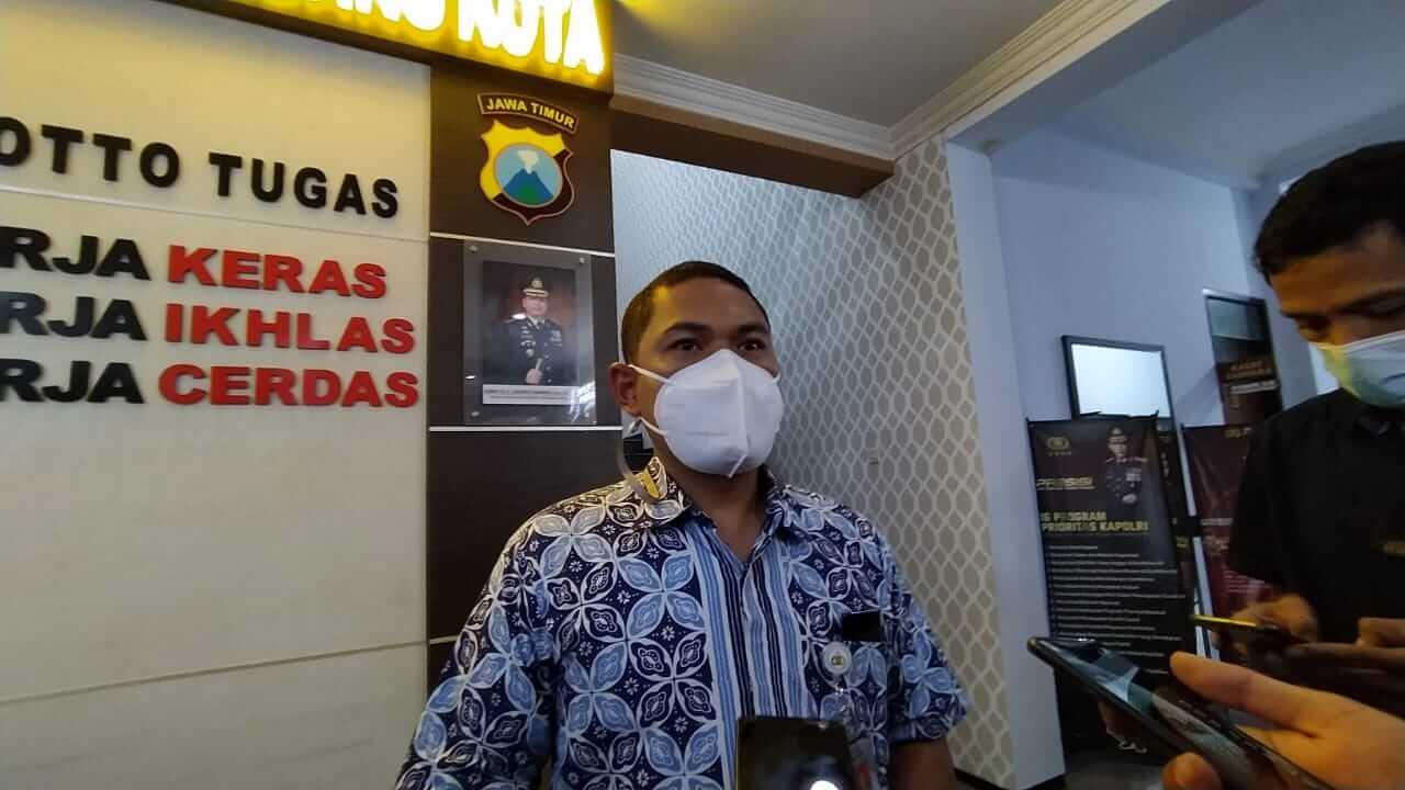Kasat Reskrim Polresta Malang Kota, Kompol Tinton Yudha. (Foto: Azmy/Tugu Malang/Tugu Jatim)
