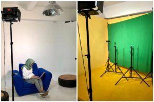 Fasilitas studio di RM. Inkubasi yang berpusat di Kota Bandung. (Foto: Dokumen/RM. Inkubasi)