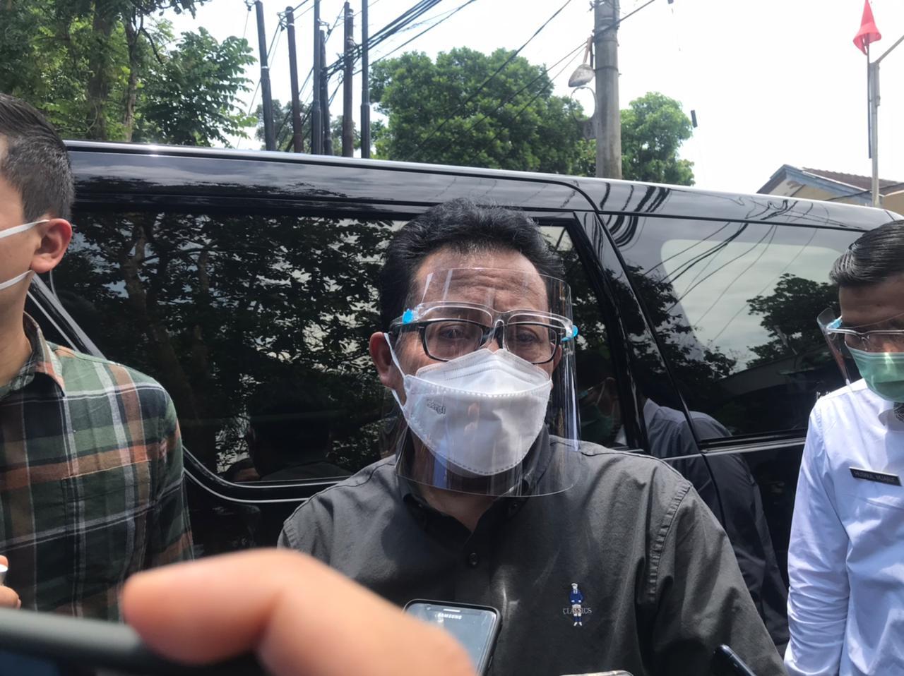 Wali Kota Malang, Sutiaji mendatangi Yayasan Bhakti Luhur, Kota Malang, Rabu (3/3/2021) untuk tinjau penerapan isolasi mandiri. (Foto: Pemkot Malang) tugu jatim