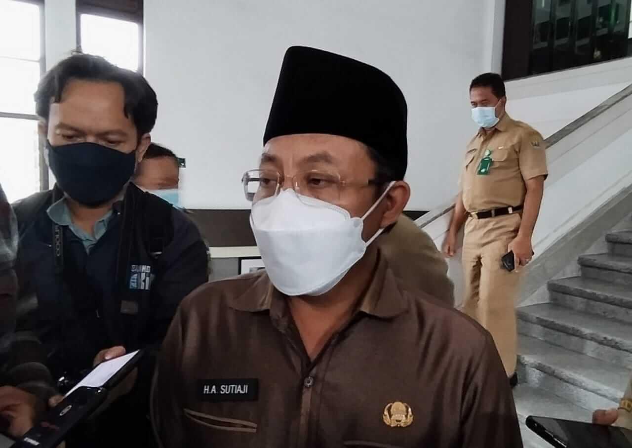 Wali Kota Malang, Sutiaji. (Foto: Azmy/Tugu Malang/Tugu Jatim) vaksinasi karyawan bank