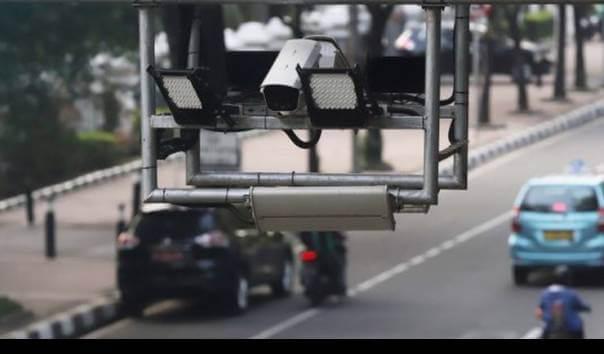 Ilustrasi kamera pengawas dan sistem tilang elektronik yang telah dipasang di 12 Polda di Indonesia. (Foto: Dokumen/Polri) kota batu