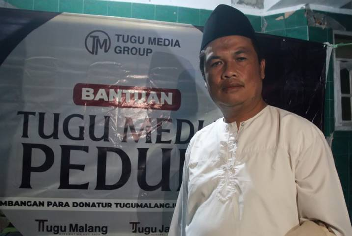 Kepala Desa (Kades) Wirotaman Ahmad Sholeh. (Foto: Rubianto/Tugu Jatim)