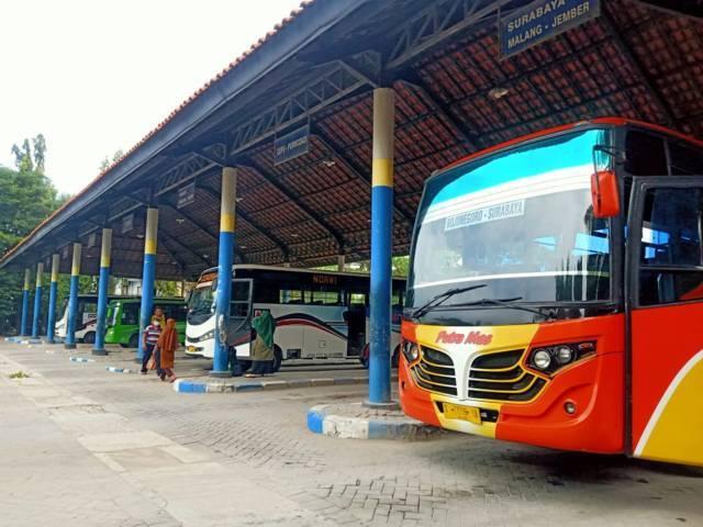 Terminal Rajekwesi Bojonegoro. (Foto: Mila Arinda/Tugu Jatim)