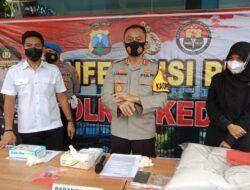 2 Minggu Gelar Operasi Pekat, Polres Kediri Tangkap 273 Tersangka Perjudian hingga Kasus Prostitusi