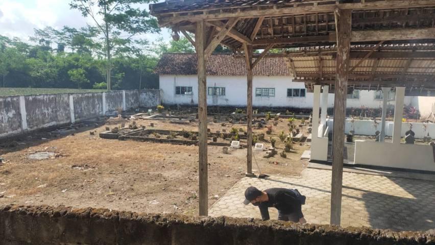 Di sinilah, Ketua Lesbumi PBNU Kiai Agus Sunyoto akan dimakamkan. (Foto: Noe/Tugu Jatim)