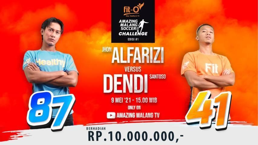 Foto poster acara Amazing Malang Soccer Challenge. (Foto: Dok/Tugu Jatim)