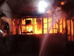 Kerugian hingga Rp 505 Juta, 3 Rumah di Perum Perhutani Bojonegoro Diamuk si Jago Merah