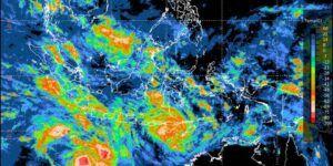 BMKG telah merilis adanya dua bibit siklon tropis yang dapat berdampak pada cuaca ekstrem. Salah satunya potensi curah hujan lebat dan angin kencang di wilayah Nusa Tenggara Timur (NTT) selama sepekan ini, 3–9 April 2021. (Foto: BMKG/Tugu Jatim)