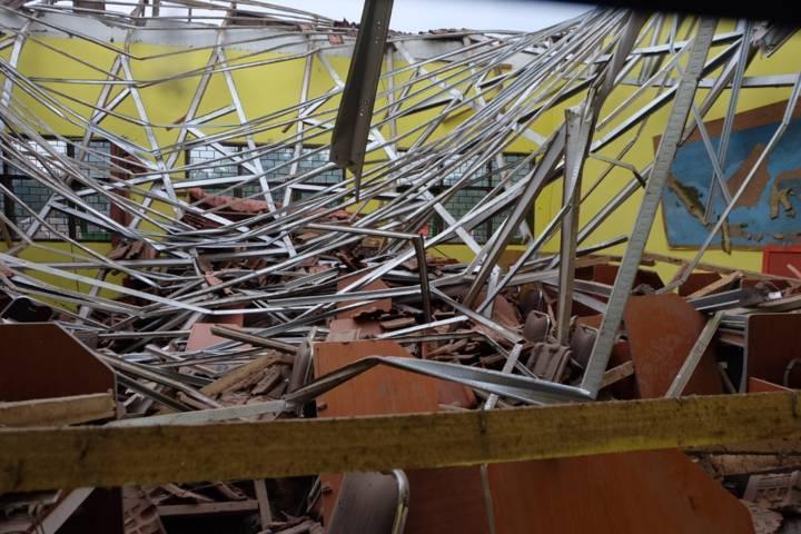 Ilustrasi bangunan rusak. (Foto: Rap/Tugu Jatim)