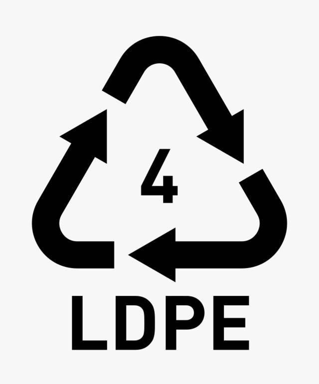 Kode plastik 4. (Foto: commons.wikimedia.org)