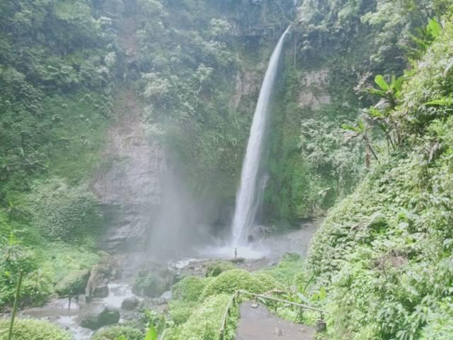 Coban Pelangi, air terjun di Desa Ngadas, Kecamatan Poncokusumo, Kabupaten Malang. (Foto: RAP/ Tugu Malang/Tugu Jatim)