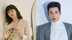 """Kim Go Eun dan Ahn Bo Hyun yang berpartisipasi dalam drama """"Yumi's Cells"""" yang tayang di tvN. (Foto: IG @ggonekim dan @bohyunahn/Tugu Jatim)"""