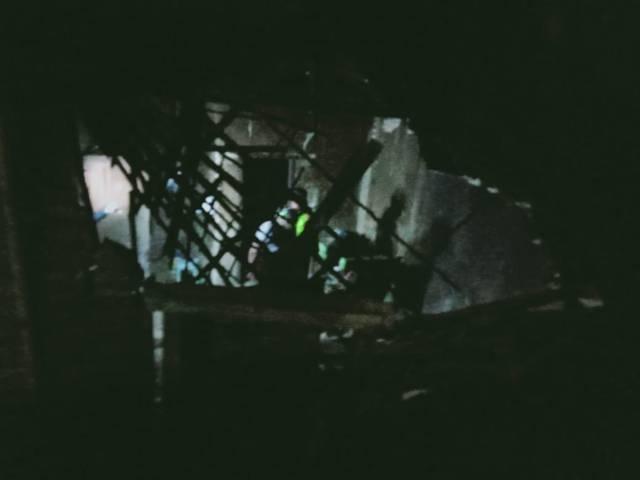 Minim penerangan di kawasan terdampak gempa. (Foto: Rap/Tugu Jatim)