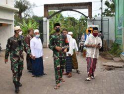 Jalin Silaturahmi di Masa Pandemi, Dandim Pasuruan Kunjungi Pondok Pesantren