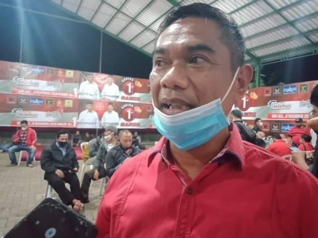 Ketua Komisi III DPRD Kabupaten Malang sekaligus Sekretaris Dewan Pimpinan Cabang (DPC) Partai Demokrasi Indonesia Perjuangan (PDIP), Darmadi. (Foto: Rizal Adhi Pratama/Tugu Malang/Tugu Jatim)