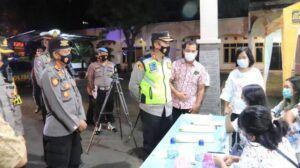 Kapolres Tuban AKBP Ruruh Wicaksono memperketat pemantauan perayaan Paskah di Tuban. (Foto: Humas Polres Tuban/Tugu Jatim)