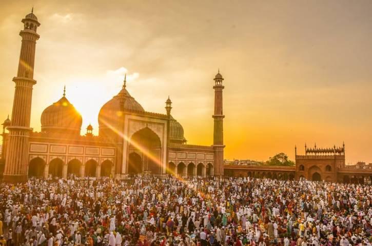 Ilustrasi ibadah salat Idul Fitri. (Foto: Pexels) niat dan tata cara