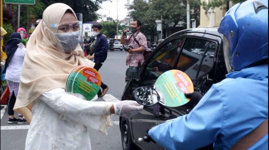 Kemenag Kota Malang melakukan sosialiasi untuk mencegah kasus gratifikasi dalam mengurus acara pernikahan. (Foto: Rubianto/Tugu Malang/Tugu Jatim)