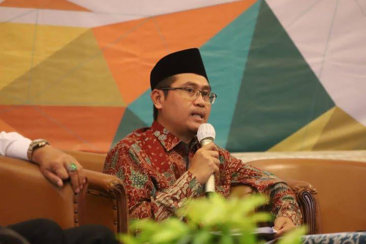 Plt Kepala BPJPH Mastuki, menyebut bahwa produk halal artinya memiliki mutu tinggal dan kualitasnya tak diragukan lagi. (Foto: kemenag.go.id)