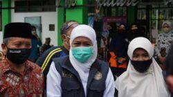 Khofifah Indar Parawansa saat meninjau MAN 2 Turen Malang, Minggu (11/4/2021). (Foto: M Sholeh/Tugu Malang/Tugu Jatim)