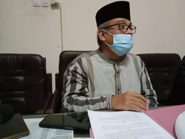 Anggota Fraksi PKB DPRD Kabupaten Kediri, Masykur Lukman ketika dikonfirmasi. (Foto: Rino Hayyu Setyo/Tugu Jatim)