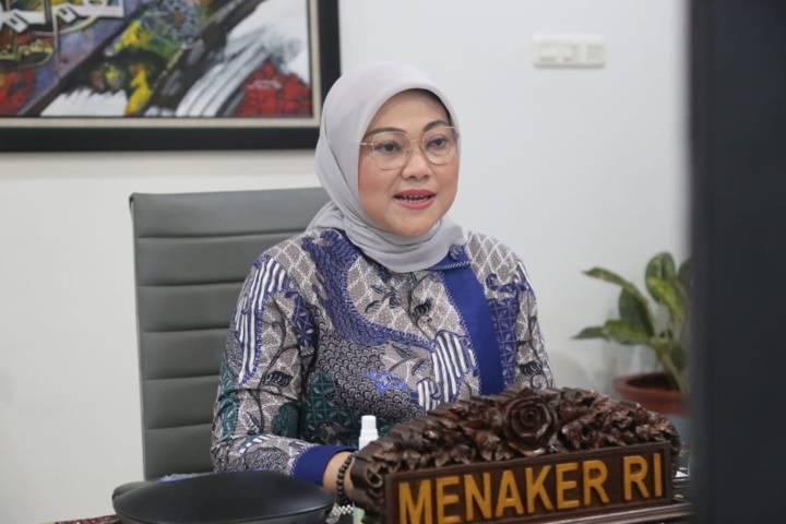 Menteri Ketenagakerjaan, Ida Fauziyah resmi mengeluarkan surat edaran terkait THR. (Foto: Dokumen/Kemnaker RI) bpjs kesehatan