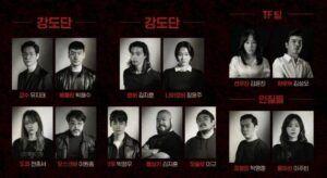 "Poster pemain drama serial ""Money Heist"" versi Korea. (Foto : Twitter/@NetflixKR)"