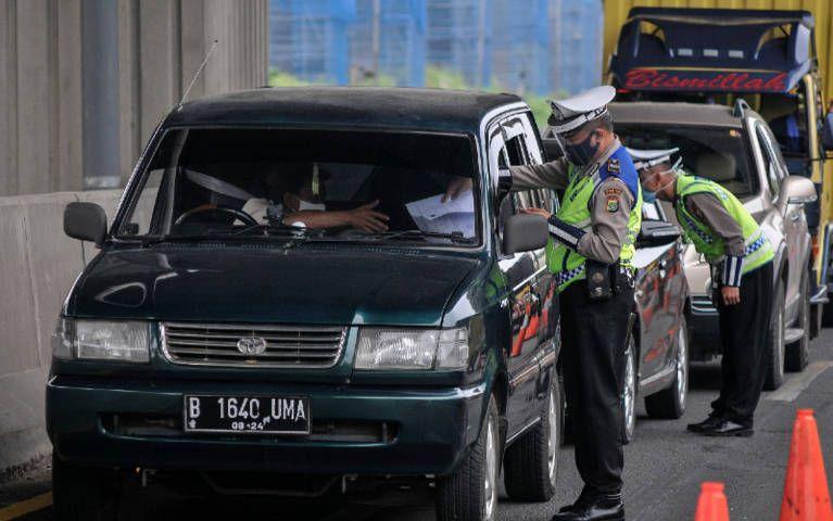 Korlantas Polri bakal menyiapkan 333 titik pos penyekatan untuk antisipasi warga yang nekat mudik lebaran. (Foto: Dokumen/Polri)