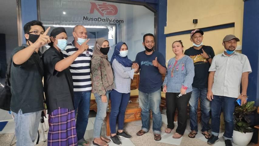 Gerakan Aremania Make Malang Great Again (MMGA) dan Nusadaily akhrinya sepakat untuk damai. (Foto: Dokumen/Nusadaily)