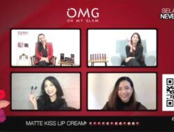 Virtual launching brand kosmetik OMG Oh My Glam #NEVERFADE, Jumat (09/04/201). (Foto: Mila Arinda/Tugu Jatim)