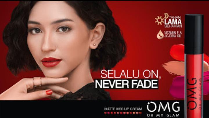Produk kecantikan terbaru asal Indonesia, OMG Oh My Glam yang siap dengan brand-brand lain. (Foto: Dokumen)