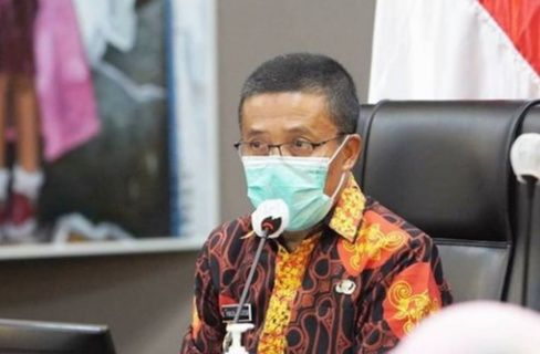 Wakil Wali Kota Batu, Punjul Santoso memberikan penjelasan atas konsep konsep pembangunan wisata Kota Batu. (Foto: M Sholeh/Tugu Malang/Tugu Jatim)